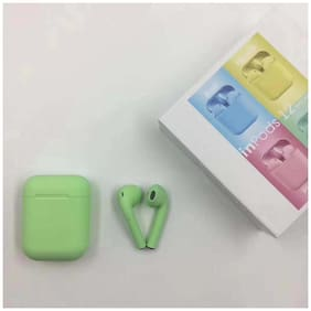 Wireless Earbuds Mini Charging Case Bluetooth,i12- inpods  -TWS  (Dual L/R), Compatible For iPhone & IOS Devices