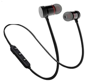 Wireless Neckband Bluetooth Earphone, Super Sound Deep Bass with Mic, Noise Cancellation Headset for Apple Devices and All Smartphone