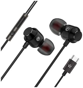 Wissenschaft JP53 C-Type In-Ear Wired Headphone ( Black )