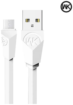 WK ALIEN 0.97 m (3.2 ft) Micro CABLE for Samsung/HTC/Sony/Vivo/Oppo/Lenovo/Gionee for super fast charging
