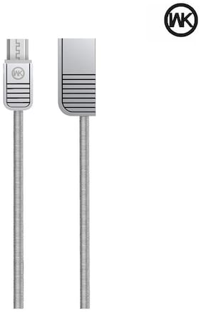 WK Lion 0.97 m (3.2 ft) Micro Cable for Samsung/HTC/Sony/Vivo/Oppo/Lenovo/Gionee for super fast charging