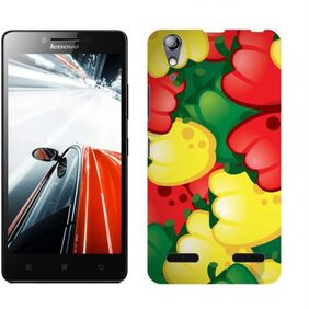 Wow Back Cover For Lenovo A6000 (Multi Color)