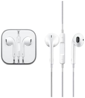 X4CART Eo-ip04 In-ear Wired Headphone ( White )