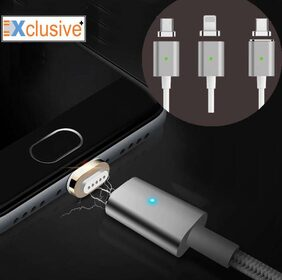 Xclusive Plus 3 in 1 Magnetic data cable and Charging cable