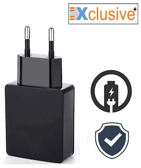 Xclusive Plus Trave adapter for all smartphones - BLACK