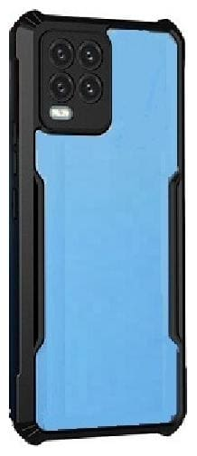 Xec2us Back Cover for Oppo A-54 ( Black )