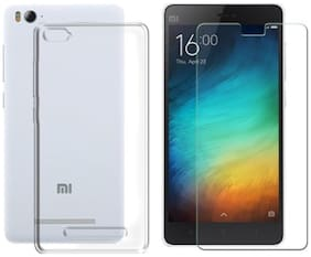 Xiaomi Mi 4i Transparent back cover with tempered glass