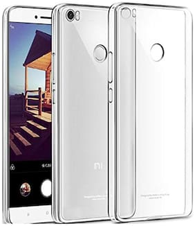 Xiaomi Mi Max transparent back cover  (Crystal clear silicon soft back cover )