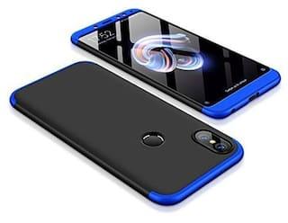 huge discount 8369c 6a4aa Buy Xiaomi Mi Redmi Note 5 Pro Case Cover 3 in1 360 Anti Slip Super ...