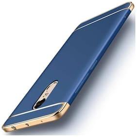shopyholik Polycarbonate Back Cover For Redmi Note 4 ( Blue )