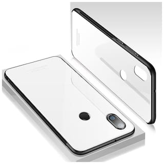 timeless design 1e204 ce4fa xiaomi mi redmi note 5 pro cover whiteglass case