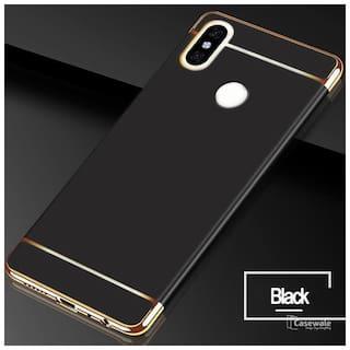 e80491542d Buy Xiaomi mi redmi note 5 pro case black premium cover Online at ...