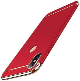 shopyholik Polycarbonate Back Cover For Redmi Note 7 Pro ( Red )