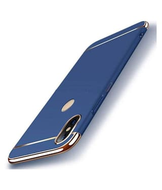 shopyholik Polycarbonate Back Cover For Redmi Note 7 Pro ( Blue )