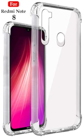 Xiaomi Redmi Note 8 - HD Clear Bumper Shockproof Corner Back Cover Transparent(Air Cushion Technology)