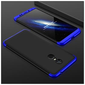 shopyholik Polycarbonate Back Cover For Redmi Note 5 ( Blue & Black )