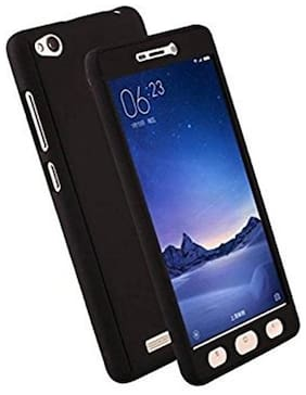 xiaomi redmi 4A 360 degree back cover with tempered glass (ipaky style)