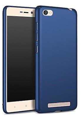 Xiaomi Redmi 5A 4 Cut Style Hard matte Finished Back Cover For Xiaomi Redmi 5A - Blue