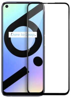 Realme 6i Edge To Edge Tempered Glass By YMYTE