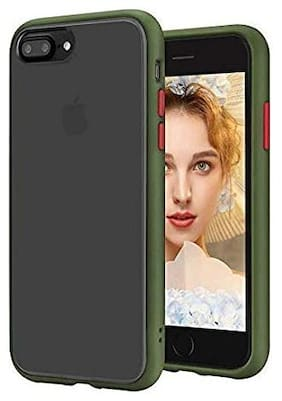 Apple iPhone 8 Rubber Back Cover By Yolke ( Multi )