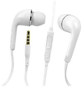 Youshee Tech yr v7 earphone In-Ear Wired Headphone ( White )