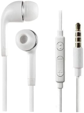 YR Earphones with Mic and Sound Control for All Smartphones and Powerful Bass by zauky