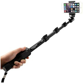 YT-1288 2 in 1 Adustable Selfie Stick Monopod for Smartphones & DSLR Cameras with Bluetooth Remote Shutter BY CHG