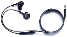 ZAUKY headfree In-Ear Wired Headphone ( Black )