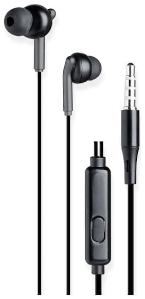 Zebronics Wired In-Ear Wired Headphone ( Black )