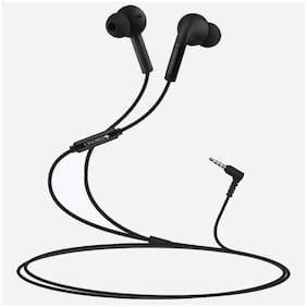 Zebronics Zeb-Ease In-Ear Wired Headphone ( Black )