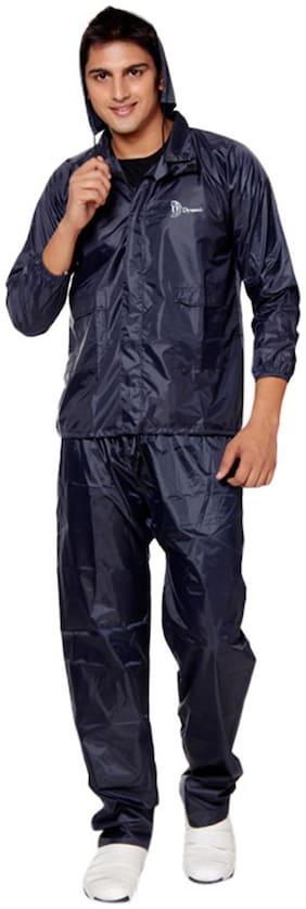 KeepSake Blue Color Polyester Raincoat (Size-XL)
