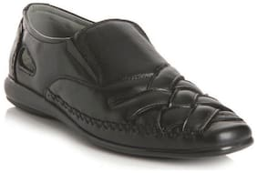 Delize Black Sandals For Men