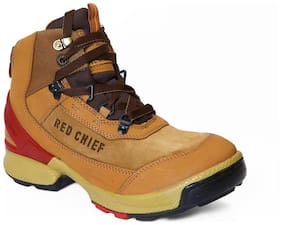 Outdoor Boots For Men ( Tan )