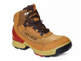 Red Chief Men Tan Boot