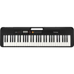 Casio CT-S200 61-Key Digital Piano Style Portable Keyboard with 400 Tones, Black