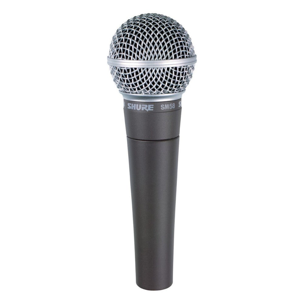 Shure SM58 LC Cardioid Dynamic Vocal Microphone by Stelcore