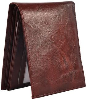 Hawaishop Brown Leather Wallet