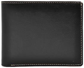Hawai Black Genuine Leather Wallet