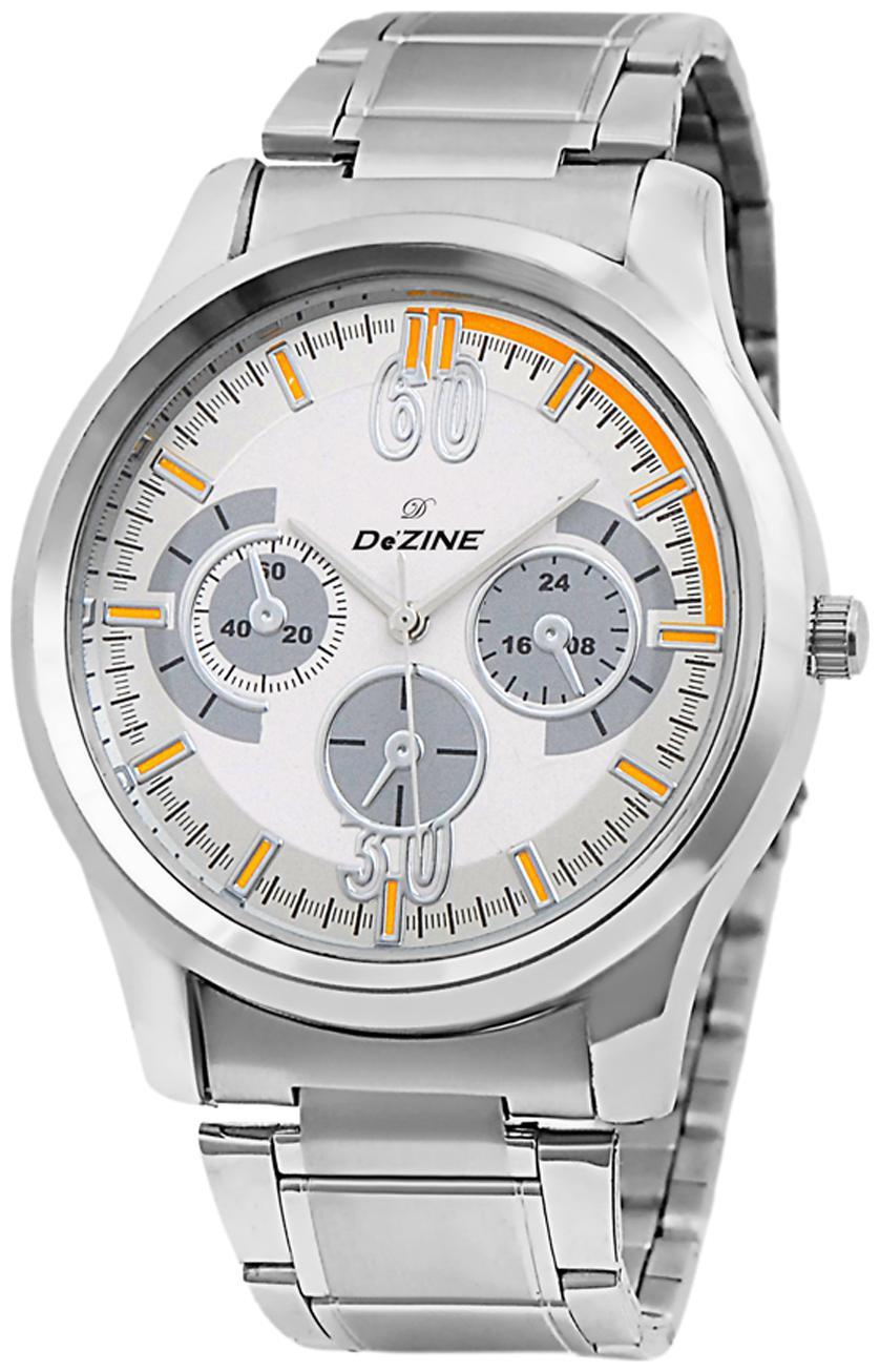 Dezine DZ GR801 WHT CH  Men's Analog Watch