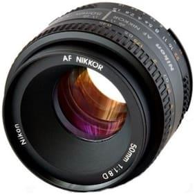 Nikon AF Nikkor 50 mm f/1.8D Lens (Black)