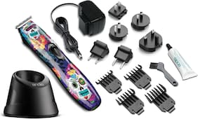 Andis D-8  Slimline Pro 32620 Li Cordless Rechargeable T-Blade Trimmer Sugar Skull (Multi)