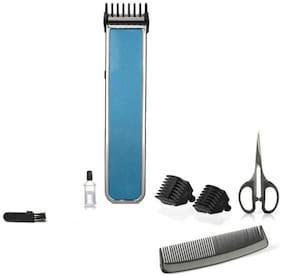 Bazaartrick Bt-216-r1 Mustache & beard trimmer For Men ( Blue )
