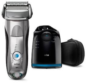 Braun 7899CC Shaver For Men (Silver & Black)