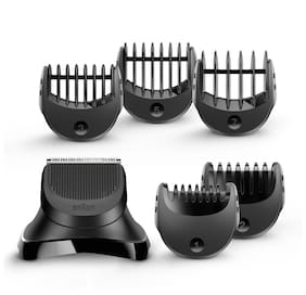 Braun Beard Trimmer Head +5 combs BT32   Compatible with Series 3 shavers