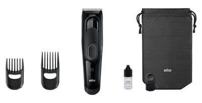 Braun Clipper HC5050 Trimmer For Men (Black)