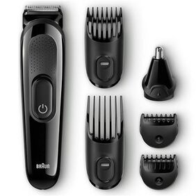 Braun Multi Grooming Kit MGK3020   6-in-one face and head trimming kit