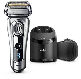 Braun Series 9 9290cc  Saver Wet&Dry with Clean & Charge System  for Men (Black and Silver)