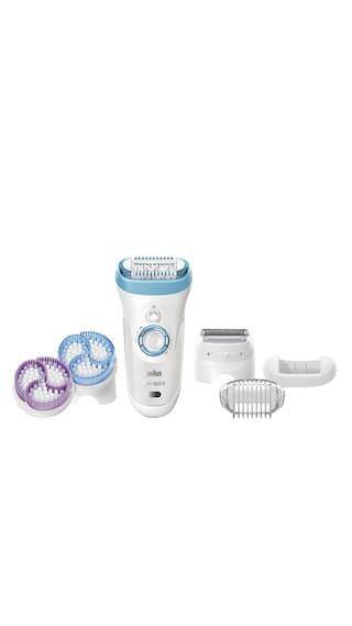 Buy Braun Silk-epil 9 Skin Spa 9-961 Epilator For Women ( White ... 30a0a18ce