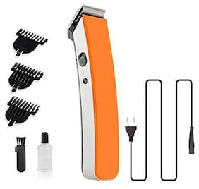 DOMAZO MULTI-FUNCTION TRIMMER FOR UNISEX(RECHARGABLE BATTERY) Multi-Function Trimmer For Men ( Orange , Rechargeable Battery )
