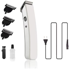 DOMAZO MULTI-FUNCTION TRIMMER FOR UNISEX(RECHARGABLE BATTERY) Multi-Function Trimmer For Men ( White , Rechargeable Battery )